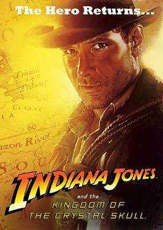 Póster Reino de la Calavera de Cristal, Indiana Jones
