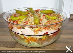 Schlanker Gyros - Schichtsalat...