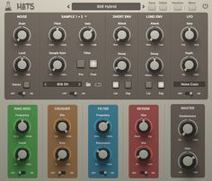 AudioThing Hats GUI Hi Hats and Cymbals Plugin VST/AU/AAX
