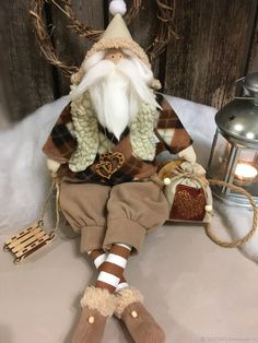 Винтажный Новый Год – купить или заказать в интернет-магазине на Ярмарке Мастеров | Винтажный Санта станет необычным подарком для…