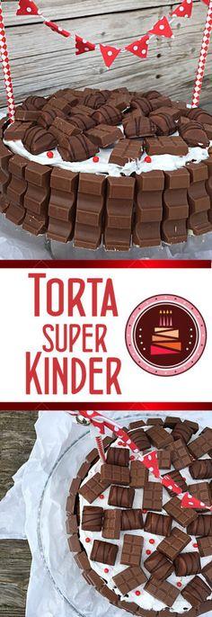 Torta di compleanno super kinder