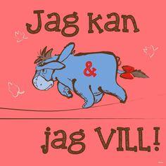 Eeyore på svenska.