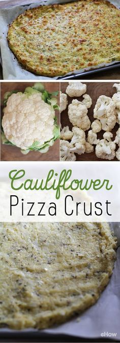 This low-carb crust alternative is honestly one of the tastiest ways to make a pizza healthier! Use cauliflower and spices to make a flavorful crust and you wont miss the bread! Grab the recipe and instructions here: http://www.ehow.com/how_12340854_make-cauliflower-pizza-crust.html?utm_source=pinterest.com&utm_medium=referral&utm_content=freestyle&utm_campaign=fanpage