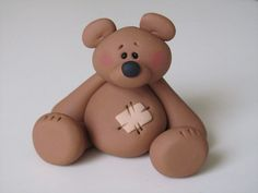 Whimsical Clay Bear Baby Nursery di ClayPeeps su Etsy