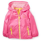 The perfect layer for all those spring days, is a lightweight jacket. Check out the striped lining, too!