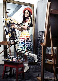 Jung Ryeo Won For Vogue Korea's March 2014 Issue | Couch Kimchi