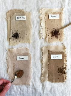 It's often the best way… - Home & DIY Tie Dye Crafts, Diy And Crafts, Paper Crafts, How To Dye Fabric, Fabric Art, Natural Dye Fabric, Natural Dyeing, Tinta Natural, Shibori