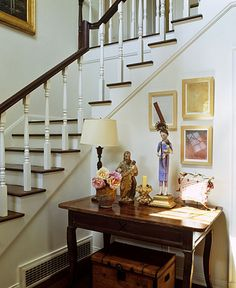 Kathryn Ireland | Projects - do something like this on table at foot of stairs in Blue Hill?