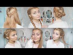 ▶ 4 Cute Braid Back To School Hairstyles - YouTube