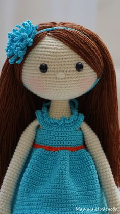 VK is the largest European social network with more than 100 million active users. Amigurumi Patterns, Amigurumi Doll, Doll Patterns, Knitting Patterns, Crochet Doll Tutorial, Crochet Doll Pattern, Crochet Dolls, Knit Crochet, Craft Ideas