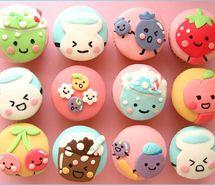 Inspiring picture cake, cupcake, cute, food.