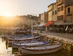 Port-quai-cassis-France - Cassis, port, boat, provence alpes cote d'azur, paca, sunset