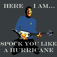 Spock on Man! Spock on! Star Trek 1, Star Trek Spock, Starship Enterprise, Live Long, X Men, Doctor Who, Sherlock, I Laughed, Science Fiction