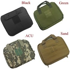 Hot Sale Tactical Airsoft Universal Gun Bag Military Army Pistol Hand Gun Case Black Green Color