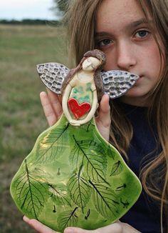 #angel#greenangel #anioł #zielonyanioł #aniołnaścianę #wallhangingangel #originalangel #rareangel #handmade