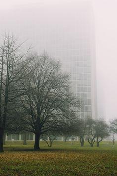 Lafayette Park, Detroit, 1955-1963. Arch. Ludwig Mies Van ser Rohe, Urban Design Ludwig Hilberseimer.