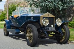1926 Rolls-Royce Derby Phantom Phantom 1, chassis EX 51  LC and UK registration YN1999 with attractive Boat tail body, pontoon running boards, dual windscreen, rear spare wheel, cut-out doors and skiff wings. Excellent condition and with a Factory experimental background. For only $135,000.