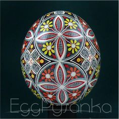 Real Ukrainian Pysanky Chicken Pysanka High Quality byRoman Easter Egg Hand made Cyberpunk Rpg, Egg Wrap, Ukrainian Easter Eggs, Ancient Symbols, Make Color, Egg Decorating, Squirrel, Traditional, Chicken