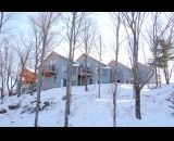 The Oaks ~ Calabogie Peaks: Located to the left of Dickson Manor alongside the mountain, you have the luxury of having a ski trail outside your front door. A five minute walk or short drive to our casual fine dining, indoor salt water pool, and outdoor hot tub located in Dickson Manor.