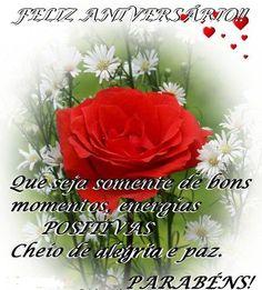Mensagens Positivas de Feliz Aniversário com Flores #felicidades #feliz_aniversario #parabéns