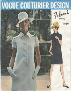 Fabiani...Hey, I found this really awesome Etsy listing at https://www.etsy.com/listing/155889614/1960s-vogue-shirt-dress-sewing-pattern