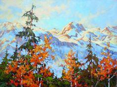 Com Art Community Amanda Jones, Community Art, Birch, Mountain, Yoga, Nature, Painting, Naturaleza, Painting Art