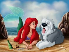 Little Mermaid on Disney-fav-fans - DeviantArt Princesa Ariel Disney, Disney Princess Ariel, Mermaid Disney, Disney Little Mermaids, Princess Art, Ariel The Little Mermaid, Mermaid Art, Tiana, Disney E Dreamworks