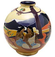 """Édition limitée """"Hommage à Gauguin"""" chez H.Stern Home. Rio de Janeiro"""