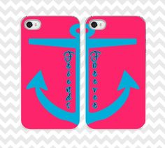 Items similar to Best Friends anchor iphone case. avaliable in on Etsy Bff Iphone Cases, Bff Cases, Custom Iphone Cases, Ipod Cases, Cute Phone Cases, Best Freinds, Couple Cases, Bff Bracelets, Sea Theme