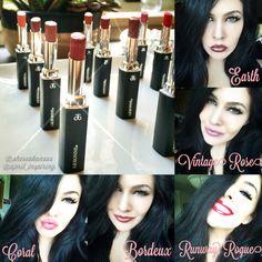 Arbonne lipsticks! ❤
