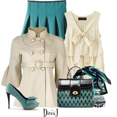 Night Out by dimij on Polyvore
