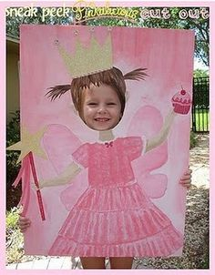 pinkalicious party photo op