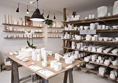 Keramiker Inge Vincents, Norrebro, Copenhagen