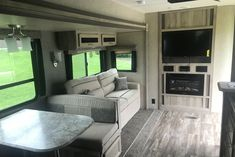"""40' 9"""" 2019 CATALINA $145 BI-WEEKLY! Check out the photos and call us at 1-866-224-0503 for more information. There's no doubt that you will have fun camping in this Catalina Destination Series Trailer by Coachmen RV. This unit offers triple slide outs and plenty of room for your family as well as all of your belongings. Your kids will enjoy their own space with the rear bunkhouse. You can easily entertain a few guests with the residential furniture, plus there are solid doors throughout all… Coachmen Rv, Woodland Park, Solid Doors, Bunkhouse, The Unit, Camping, Models, Space, Check"""