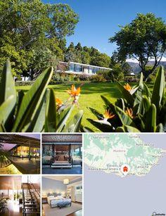 O hotel balnear situa-se numa área central mas tranquila num parque de cerca de 12.000 m² na área hoteleira do Funchal. Os transportes públicos localizam-se apenas a cerca de 50 m do hotel e a paragem de autocarros a cerca de 100 m. Existe uma discoteca a aproximadamente 200 m de distância. O belíssimo mar azul-turquesa encontra-se a cerca de 500 m de distância. Nas imediações (cerca de 800 m) esperam-no diversos estabelecimentos comerciais, inúmeros restaurantes, diversos bares, pubs…