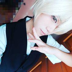 #me #selfie #makeup #bored #cosplayer #cosplay #animeguy #anime #animecosplay #visualkei #ulzzang #ulzzangboy #ulzzanggirl #asian #manga #otaku #asianboy #asiangirl #jacket #effect #cosplaymakeup #messy #japanese #korean #chinese #kuc #butler #cute #kawaii