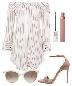 """Untitled"" by pleatsandperfume ❤ liked on Polyvore featuring Yves Saint Laurent, Chopard, Topshop and Maybelline"