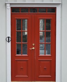 Front door in old style but they are brand new.