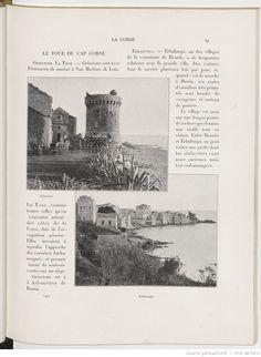 À la France : sites et monuments. La Corse / [notices de Onésime Reclus] cap corse