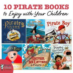 Ten Pirate Books to Enjoy with Your Children