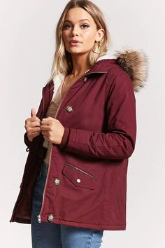 e727a6a2d3675 Product Name Faux Fur-Trimmed Parka