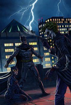 Batman and Catwoman vs The Joker