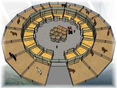 If you made it big enough, you could have a round pen in the m. If you made it big enough, you could have a round pen in the middle. – Noiseless Self-confidence Dream Stables, Dream Barn, Horse Stalls, Horse Barns, Schleich Horses Stable, Horse Tack Rooms, Barn Stalls, Barn Layout, Horse Farm Layout