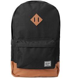2fd07c1b52c Herschel Supply Black Heritage backpack Heritage Backpack