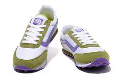 Womens Vans Running Shoes Green-Purple
