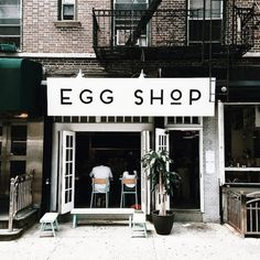 the Egg Shop, NYC
