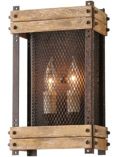 Make this?  Merchant Street 2-Light Wall Sconce | House of Antique Hardware