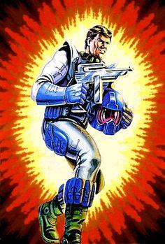 Maverick: Battle Force 2000 Vector Jet Pilot 90s Toys, Retro Toys, Gi Joe Movie, Gi Joe Characters, Cobra Art, Gi Joe Cobra, Toy Art, Figurative Art, Soldiers
