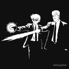 Pulp Fiction x Yu Yu Hakusho / Spirit Fiction