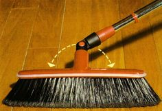 Broom, Swivel, Rotating Head, Aluminum Telescopic Handle, Italian Volo Broom http://www.amazon.com/dp/B0056JTYQ6/ref=cm_sw_r_pi_dp_08KXvb1E049BT